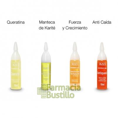 Ampolla SKAFE Anticaspa Combate de forma eficaz la caspa y la seborrea.
