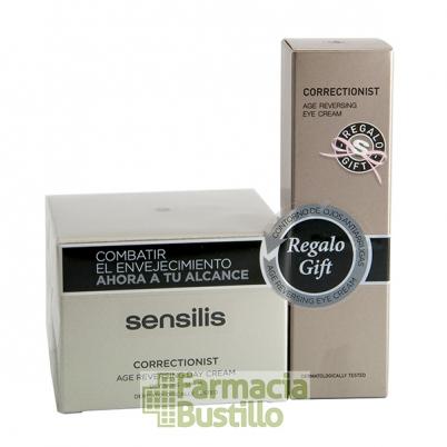Sensilis CORRECTIONIST SPF15 Crema Día, 50ml + REGALO Contorno ojos 10ml