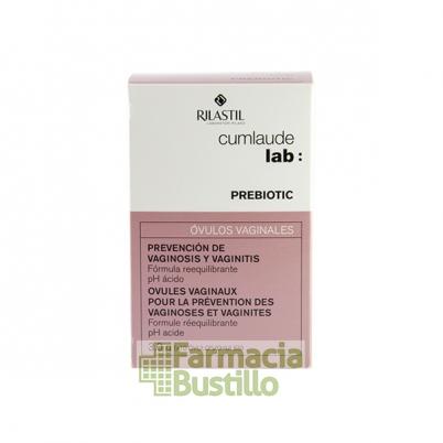CUMLAUDE Lab PREBIOTIC Óvulos Vaginales 10 unidades
