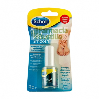 Aceite de Uñas Velvet Smooth Dr Scholl 7,5ml