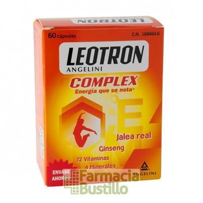 LEOTRON Complex con Jalea Real y Ginseng 60 comp CN 168464