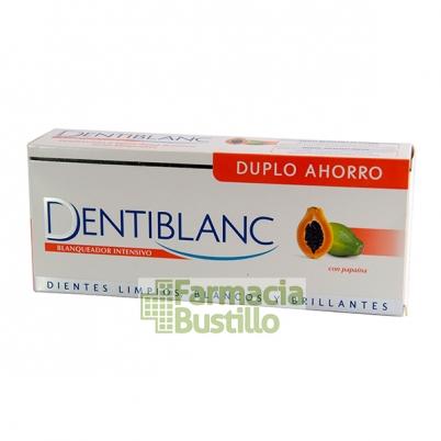 DENTIBLANC Duplo Dentífrico Blanqueador Intensivo, 50% DTO 2ª Unid