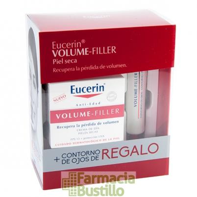 EUCERIN Volume Filler Crema de Dia Pieles Seca 50ml  + REGALO Contorno de Ojos