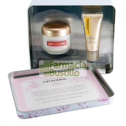 PACK LIPOSOMIAL  Antienvejecimiento Crema Antiarrugas  50ml +  REGALO Serum Concentrado 20ml + CAJA DE LATA