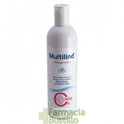 MULTILIND Champú Suave Uso Diario 400ml