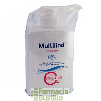 MULTILIND Gel de Baño Uso Diario 500ml