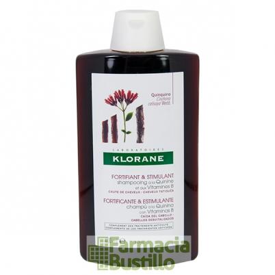 Klorane Champú  Caída de cabello a la Quinina 400ml