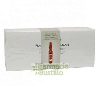 ISDINCEUTICS Flavo-C Ultraglicano 30 Ampollas Hidratantes y Antioxidantes