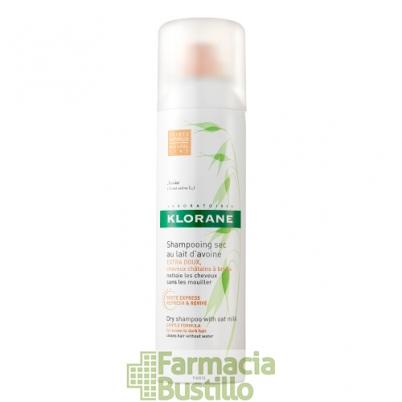 Klorane Champú seco Color Natural extra-suave a la leche de Avena 150ml