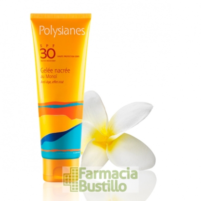 POLYSIANES Gel Nacarado Antiedad Proteccion alta SPF 30 125ml