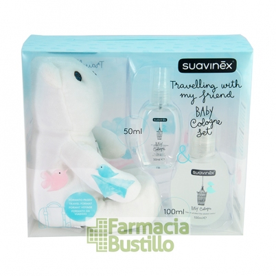 SUAVINEX  Colonia Infantil 100ml  + Osito y Colonia 50ml de REGALO