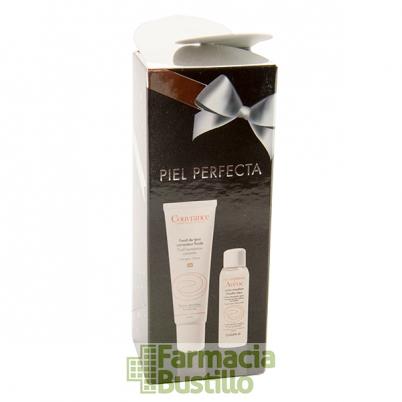 AVENE Pack Navidad COUVRANCE Maquillaje Fluido Color Miel + Loción Micelar 20ml REGALO
