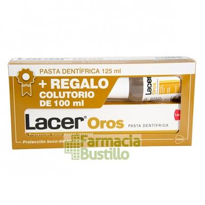 LACER Oros Pasta Dentífrica 125ml + Colutorio 100ml REGALO