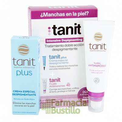 Pack Antimanchas TANIT Plus 15ml + Fluido SPF 40 50ml