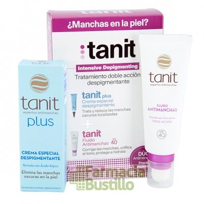 Pack Antimanchas TANIT Plus 15ml + Fluido SPF 40 50ml