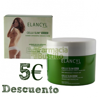 Elancyl CELLU SLIM Noche Cuidado Anticelulítico Intensivo  5€ Descuento