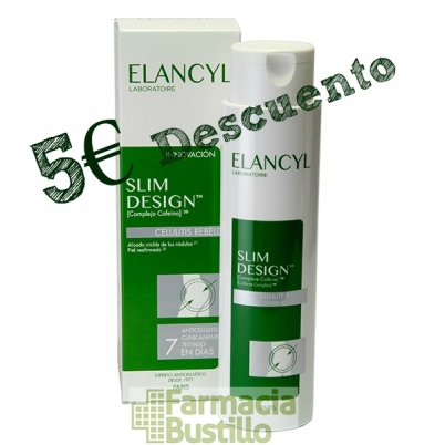 Elancyl SLIM DESIGN Celulitis Rebelde 5€ descuento
