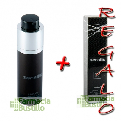 Sensilis UPGRADE CHRONO LIFT Serum reparador y reafirmante 30ml + Contorno de Ojos 15ml REGALO
