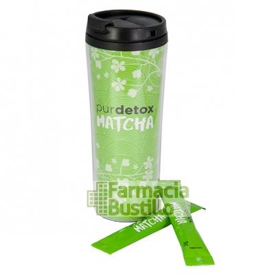 Purdetox Té MATCHA y Acerola con efectos Detox 14 Stick