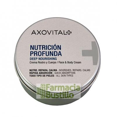 AXOVITAL Crema Nutrición Profunda Rostro y Cuerpo con manteca de Karité 150ml