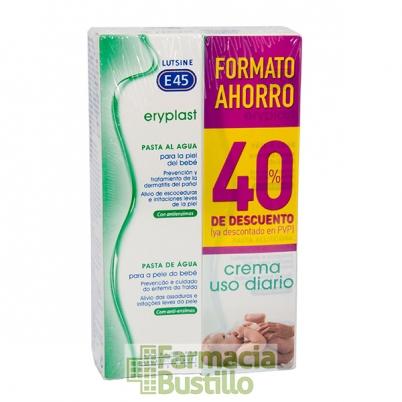 Eryplast DUPLO Pasta al agua 75 g + 75G  40% Dto en 2º Unidad
