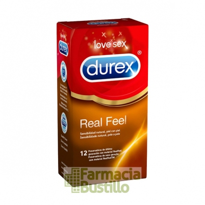 Durex Preservativos Real Feel Sensitivo Sin Latex