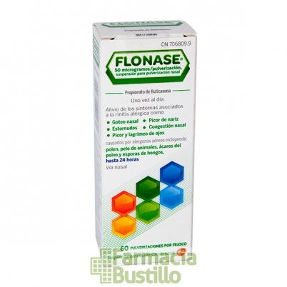 FLONASE 50mg/pulverizador 60 pulverizaciones