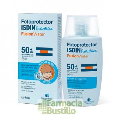 ISDIN Fotoprotector Pediatrico SPF50+ Fusion Water 50ml