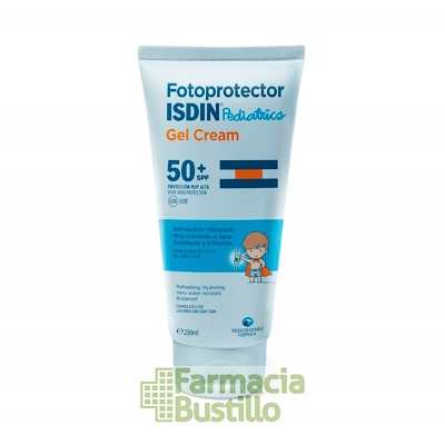 ISDIN Fotoprotector Pediátrico SPF50+ Gel Crema 250ml