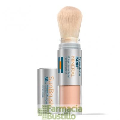 ISDIN Fotoprotector SUN BRUSH Mineral Brocha Facial SPF 30+ CN 179181