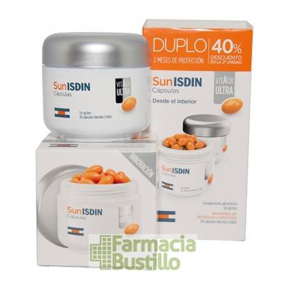 SunISDIN VitAox DUPLO Ultra 30 + 30 capsulas blandas