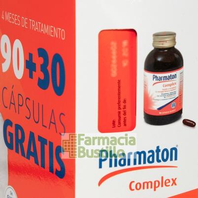 Pharmaton  Complex 90 Cápsulas blandas + REGALO 30 Caps