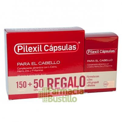 Pilexil Cápsulas tratamiento y cuidado para la caída del cabello