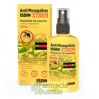 ISDIN Antimosquitos Extrem Repelente de Mosquitos Spray 75ml