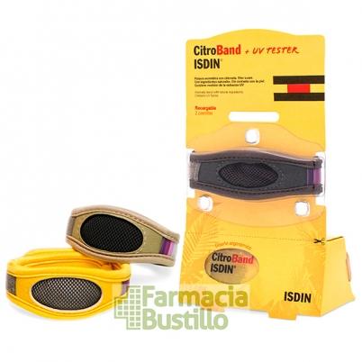 ISDIN Citroband Pulsera para mosquitos con Citronela Adultos y niños