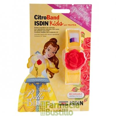 ISDIN Citroband Kids Pulsera para mosquitos con Citronela Bella Niñas