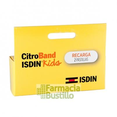 ISDIN Citroband Recambio Pulsera para mosquitos con Citronela 2 Unidades