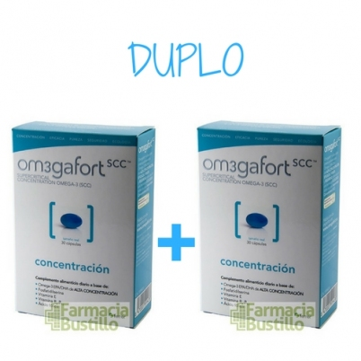 OM3GAFORM SCC Concentración DUPLO 30 + 30 Capsulas