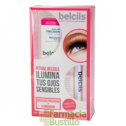 BELCILS Pack Máscara Precisión 12 ml + Iluminador Antifatiga 2,5ml