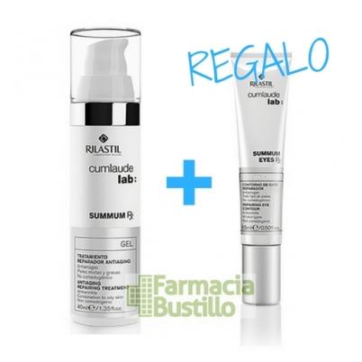 SUMMUN Gel Facial Cumlaude Lab Tratamiento reparador con alta concentración de activos reparadores y regeneradores