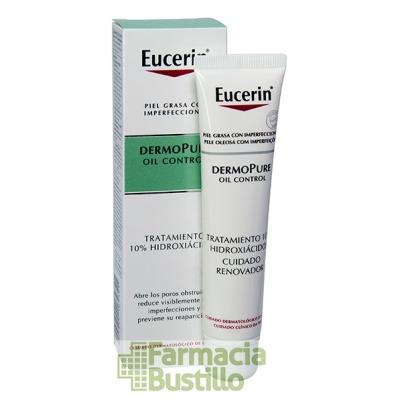 EUCERIN Dermopure Oil Control Tratamiento 10% Hidroxiácidos 40ml