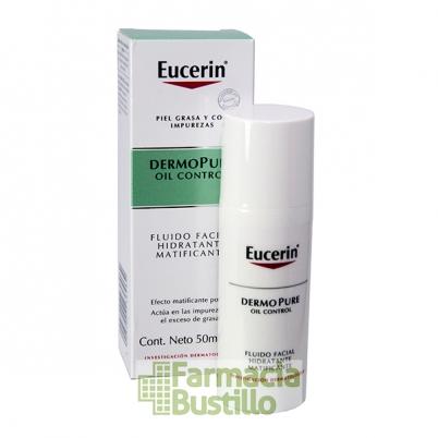 EUCERIN Dermopure Oil Control Fluido Facial Hidratante y Matificante 50ml
