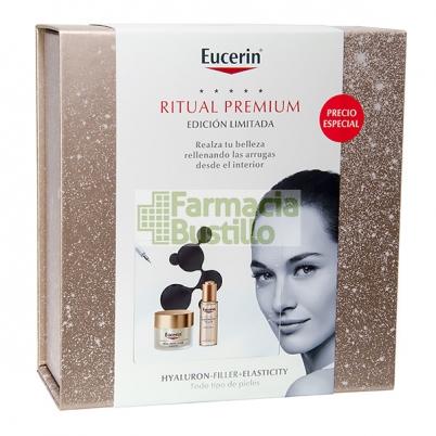 EUCERIN PacK ELASTICITY+FILLER Crema de Día 50ml  + ELASTICITY+FILLER Aceite Facial 50ml