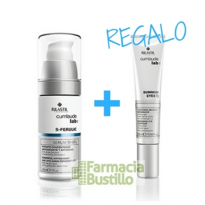 S-FERULIC CumLaude Lab Serum Antiedad en gel 30ml + Summun Contorno de Ojos 15ml
