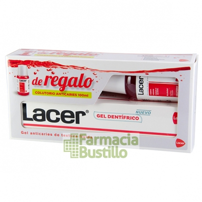 LACER Gel Dental 125ml + REGALO Colutorio 100ml