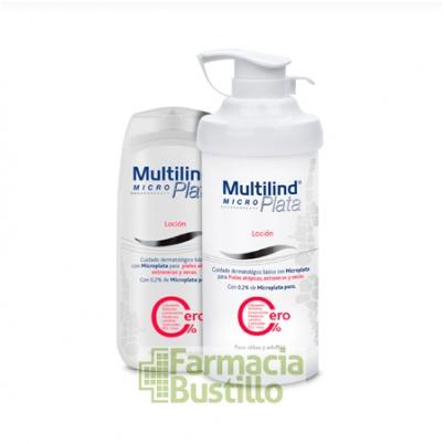 MULTILIND MicroPlata Loción 200ml pieles atópicas