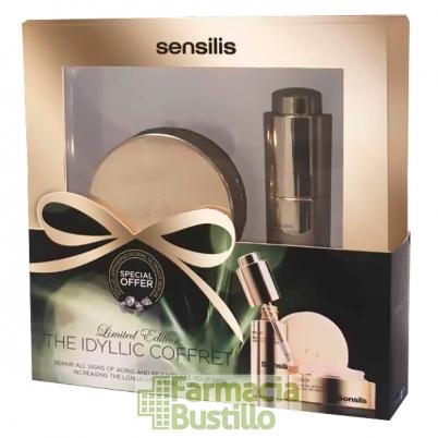 Sensilis IDYLLIC Pack Cofre Navidad Crema Antiedad 50ml + Serum 30ml