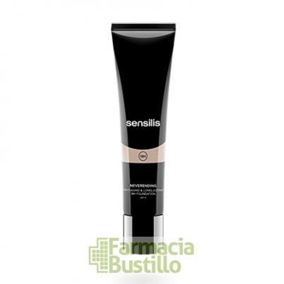 Sensilis NEVERENDING Make-up NUEVO Maquillaje de larga duración SPF 15 y tratamiento antiedad 30ml