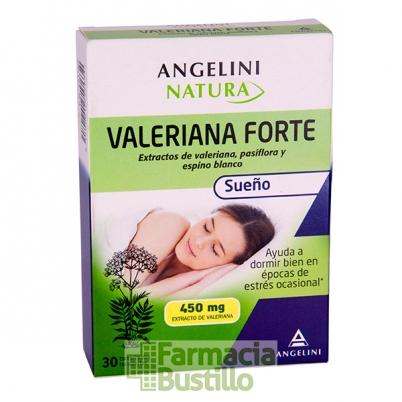 VALERIANA FORTE Leo Angelini pasiflora y espino blanco 30 comp