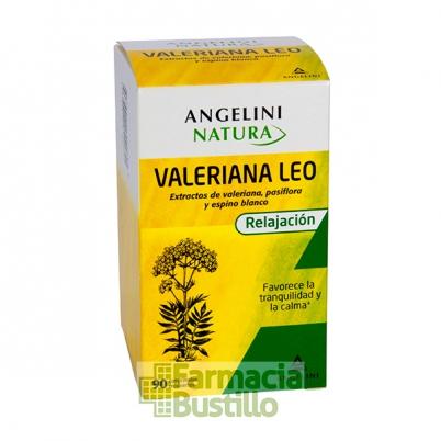 VALERIANA Leo Angelini pasiflora y espino blanco favorece la tranquilidad y la calma.